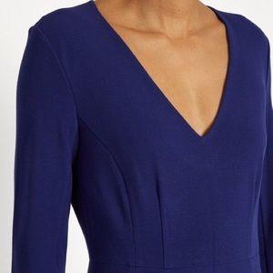 Diane Von Furstenberg Dresses - DVF Klein Blue Sheath Dress